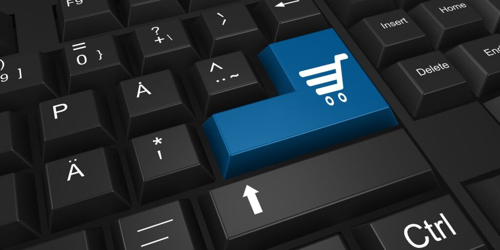 Online shopping and digital transformation